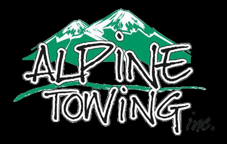 Alpine Towing Logo