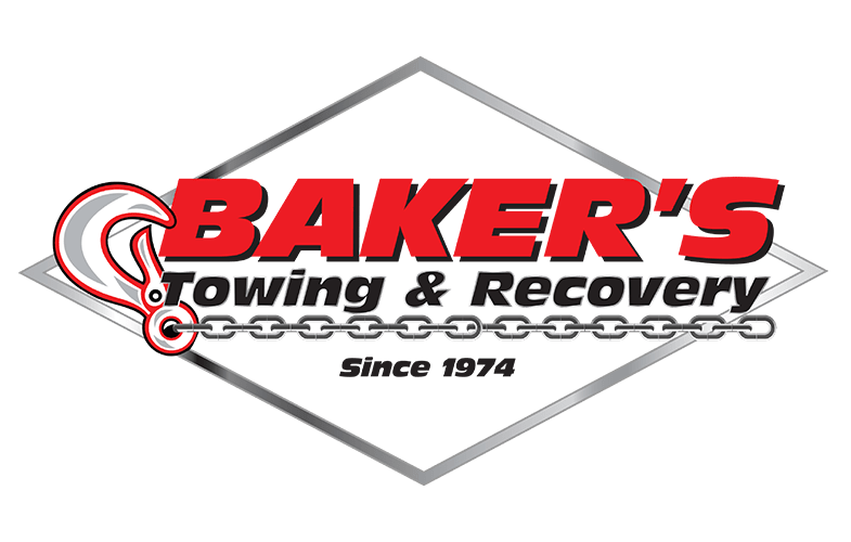 Bakers Towing & Recovery Logo