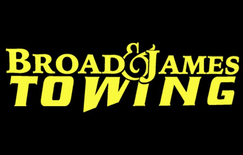 Broad & James Towing Logo
