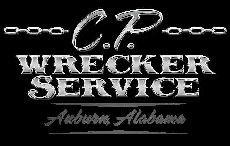 Cp Wrecker Service Logo