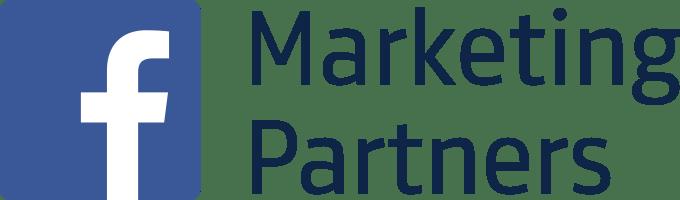 Facebook Marketing Partners Logo Stacked